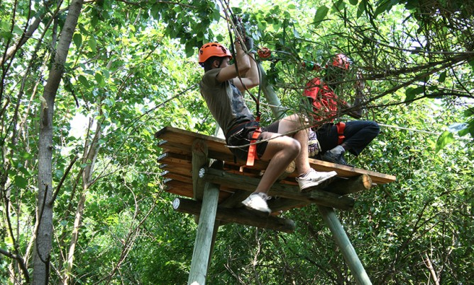 Hollybrooke adventure farm launches new zipline!