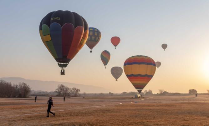 Hot Air Balloon Championships in Magaliesberg