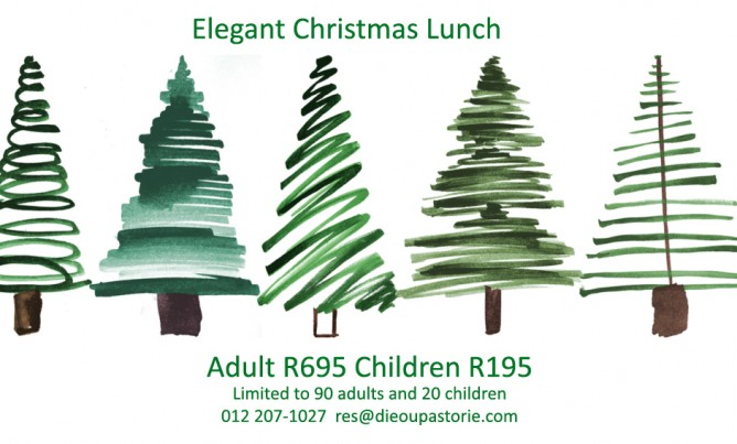 Book your Christmas lunch!