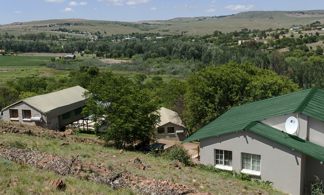 New chalets at Magalies River Lodge!