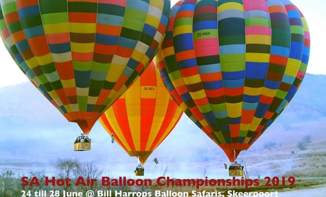 SA Hot Air Balloon Champs 2019