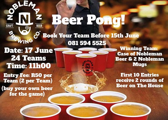 Beer ping – pong!