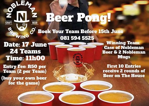 Beer ping – pong!