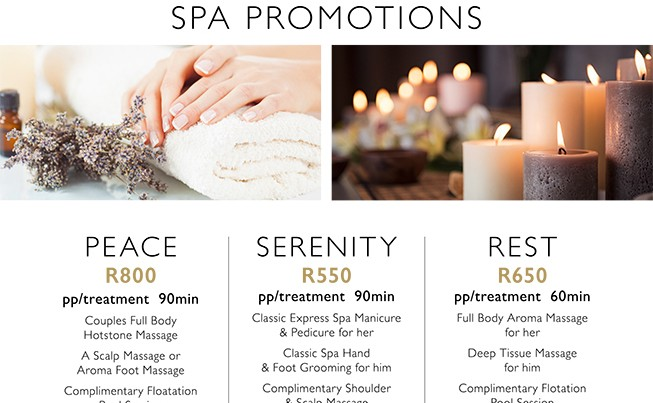 Country Getaway Spa Promotions