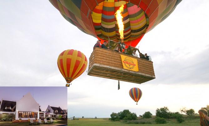 Romantic Balloon Safari