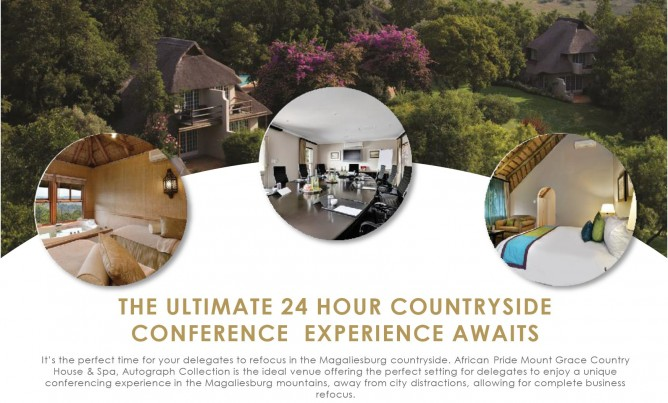 Countryside Conferencing at Mount Grace Country House & Spa