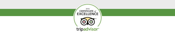 TripAdvisor award for Stone Hill