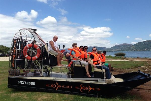 Airboat Afrika @ Harties