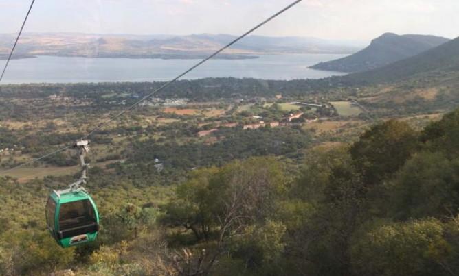 Panoramic views of the Magaliesberg