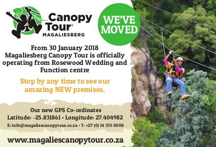 New Home for the Magaliesberg Canopy Tour