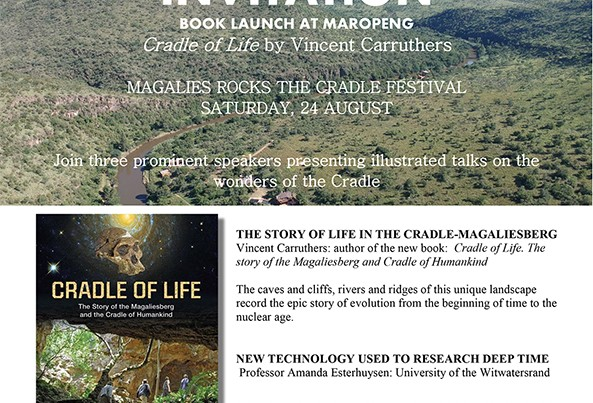 Book launch at Maropeng