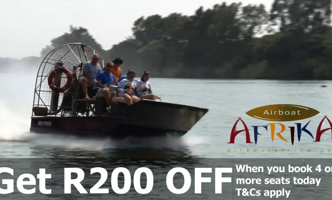 Women's Day Xtreme Airboat