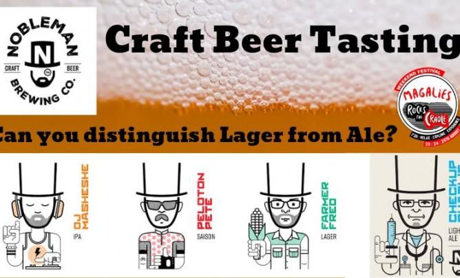 Craft Beer tasting!