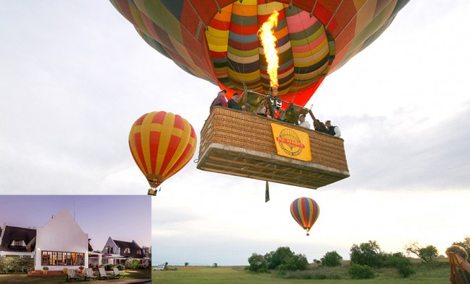 Romantic Balloon Safari