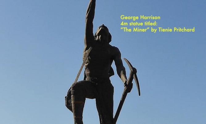 "George Harrison – ""The Miner"""