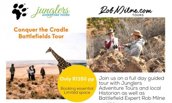 Conquer the Cradle Battlefields Tour